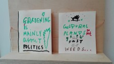 ROOM FOR IMPROVED FUTURES   Sites of becoming? 2/2 Future Gardens -